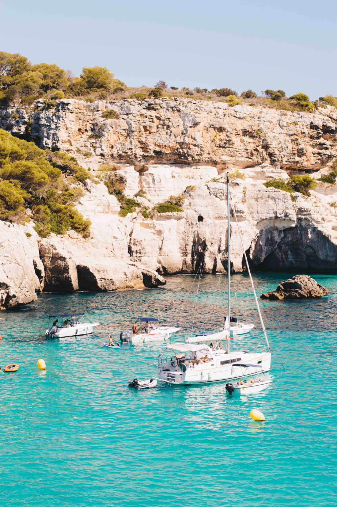 Best Beaches Menorca - Cala Macarella