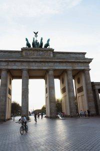 Exploring West Berlin Brandenburg Gate