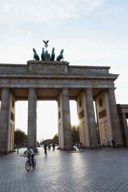 Exploring West Berlin Brandenburg Gate