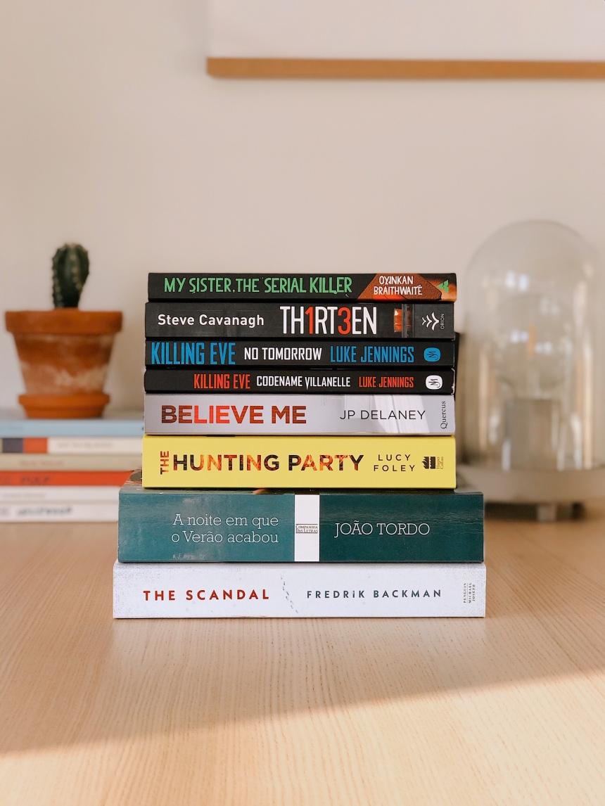 9 Livros Crime e Mistério - Livros na Quarentena
