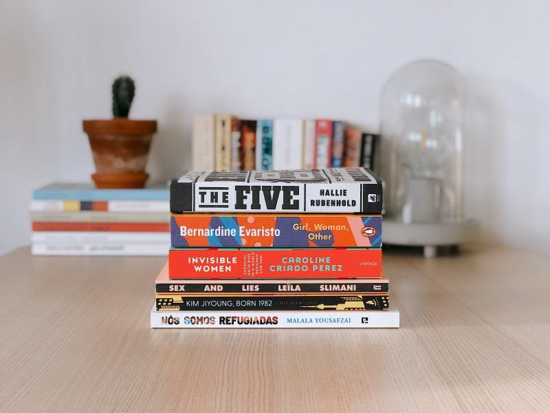 6 Livros Mulheres e Desigualdades